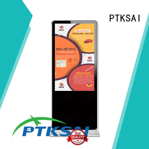 digital signage screens fhd for self service PTKSAI