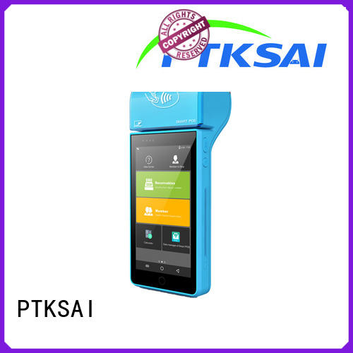 PTKSAI mini mobile point of sale terminal for restaurants and bars