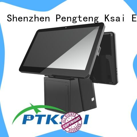 PTKSAI android restaurant pos systems with thermal printer for sale