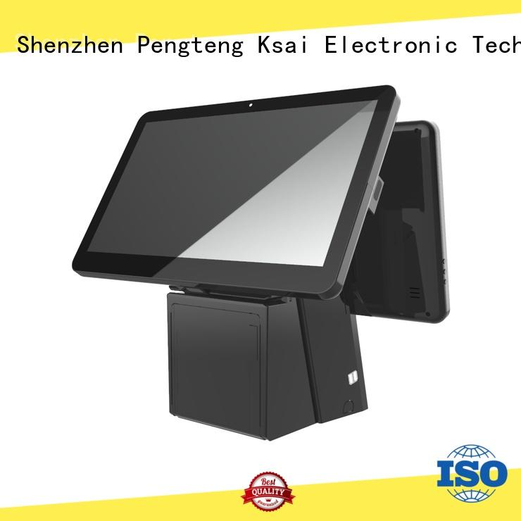 PTKSAI fashion all in one pos terminal without auto cutter for self service