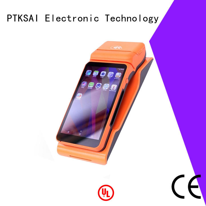 ordering mobile pos terminal with customer display for restaurants and bars
