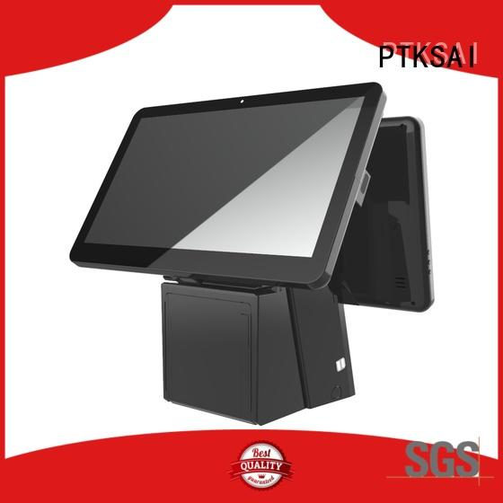 windows touch screen cash register without auto cutter for self service PTKSAI