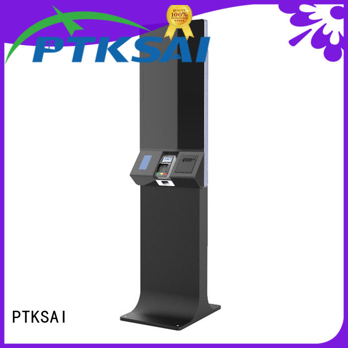 kssk self checkout kiosk with camera for self service
