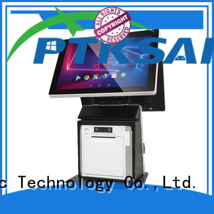 PTKSAI pos all in one touchscreen computer with thermal printer bulk buy
