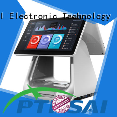 PTKSAI retail retail pos with auto cutter for self service