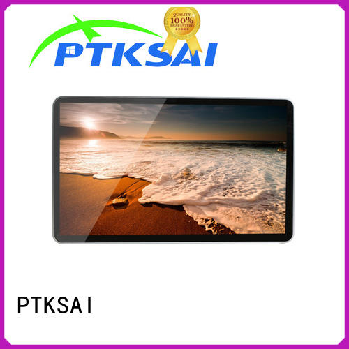 portrait indoor digital signage all in one for advertising PTKSAI