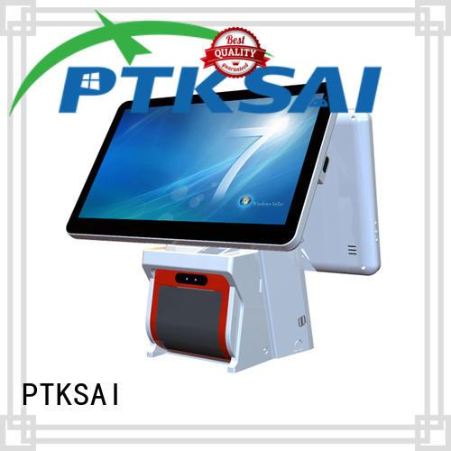 high quality pos system cash register with receipt printer for restaurants