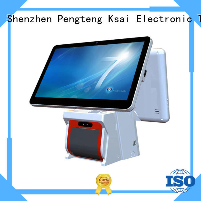 high end touch screen cash register with auto cutter for self service
