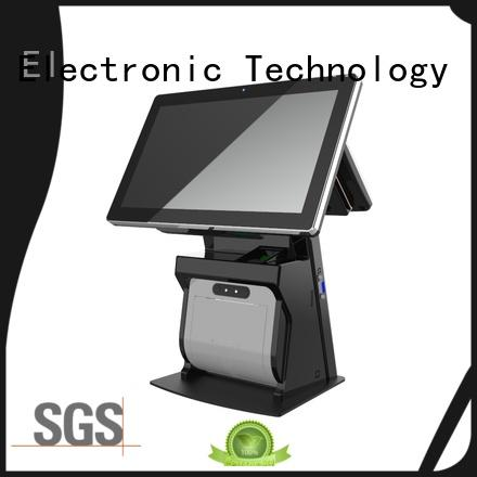 PTKSAI all in one pos terminal with barcode scanner for sale