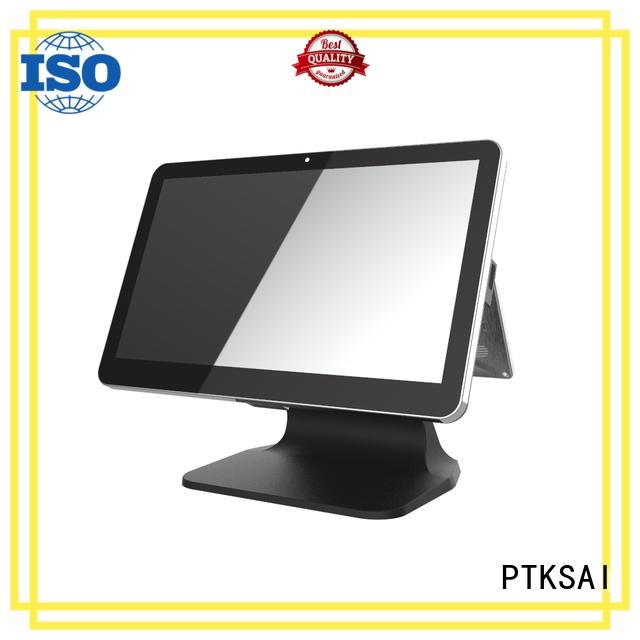 PTKSAI mobile pos system with customer display for payment