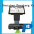 15.6'' or 11.6'' Touch Screen All In One POS Weighing Scale with Thermal Printer and Customer Facing Display KS-S