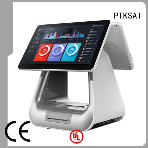 all in one terminal with thermal printer for restaurants PTKSAI