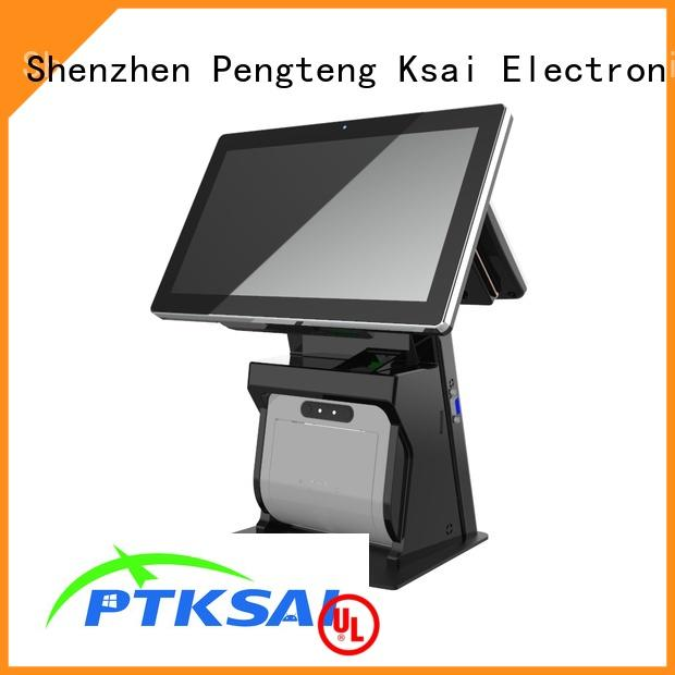 cash drawer with thermal printer for self service