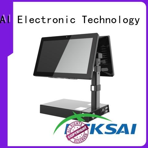 dual mobile point of sale terminal with smart card reader for payment