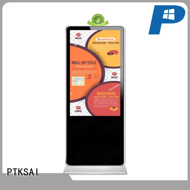 display interactive indoor digital signage machine touch PTKSAI Brand