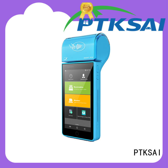 dual mobile pos tablet with customer display for payment