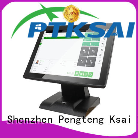 PTKSAI cost-effective all in one touchscreen pos terminal with barcode scanner for restaurants