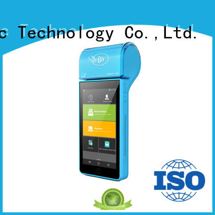 PTKSAI fast mobile pos android with customer display for small business