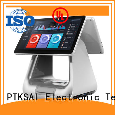 PTKSAI fashion all in one pos terminal for payment