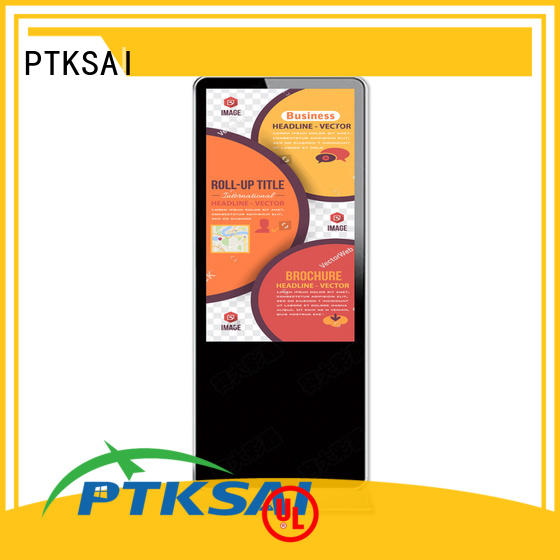 PTKSAI top selling digital signage retail with camera for business
