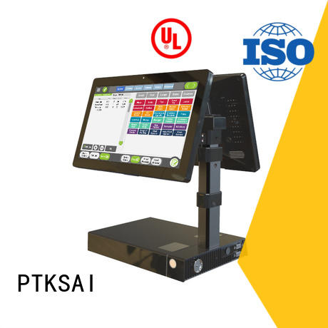 cash system dual all in one pos PTKSAI