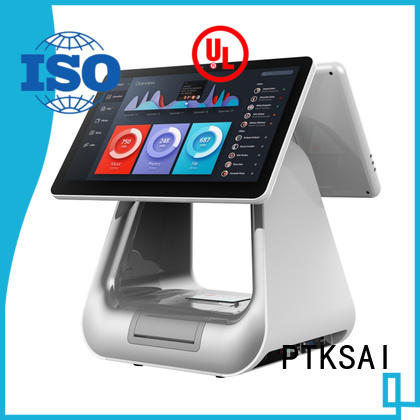 pos terminal with thermal printer for restaurants PTKSAI
