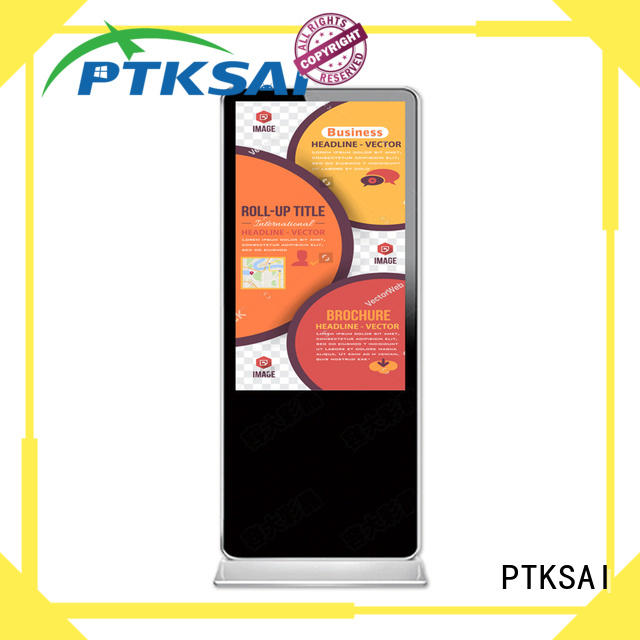 PTKSAI portrait retail digital signage with wifi for self service