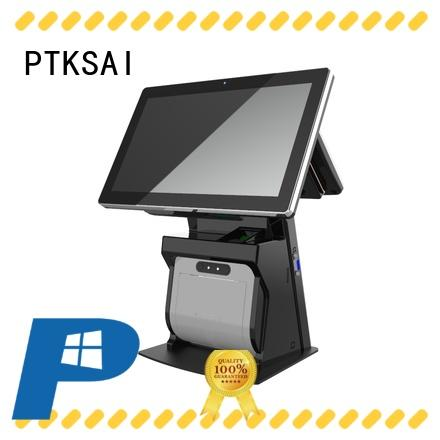 PTKSAI high end point of sale cash register without auto cutter for self service