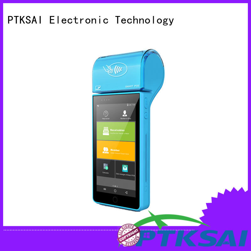 PTKSAI Brand android inch emv mobile pos system manufacture