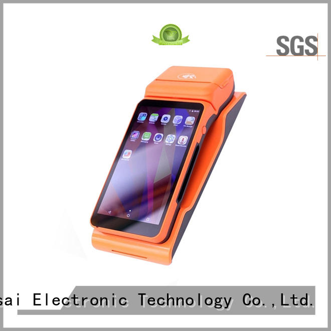PTKSAI ksf mobile pos system with customer display for restaurants and bars