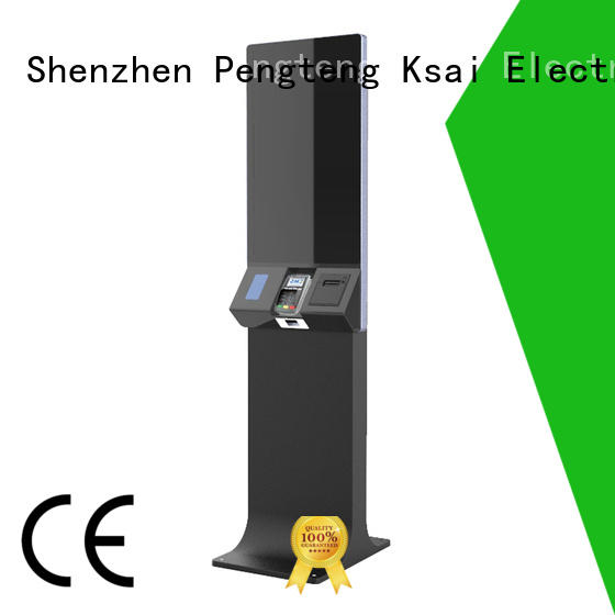 high quality registration kiosk with camera for sale