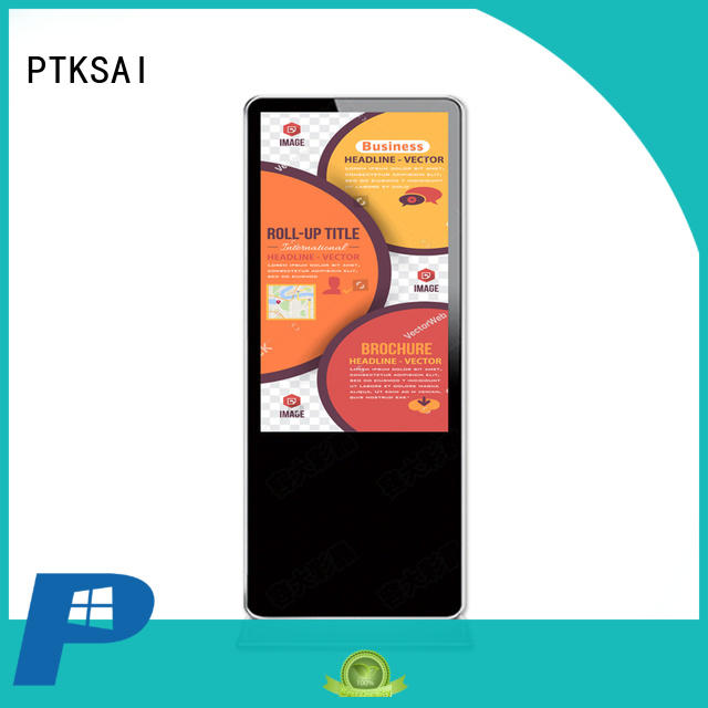 Hot indoor digital signage touch PTKSAI Brand