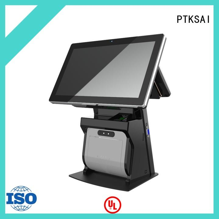 PTKSAI point of sale cash register with auto cutter for restaurants
