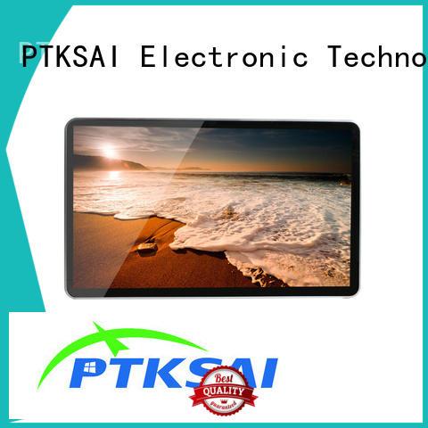 Hot machine digital signage kiosk advertising touch PTKSAI Brand