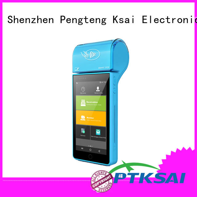 ksf mobile pos machine with smart card reader for payment