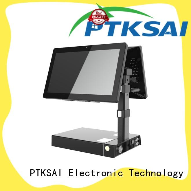 PTKSAI food mobile point of sale terminal with smart card reader for restaurants and bars