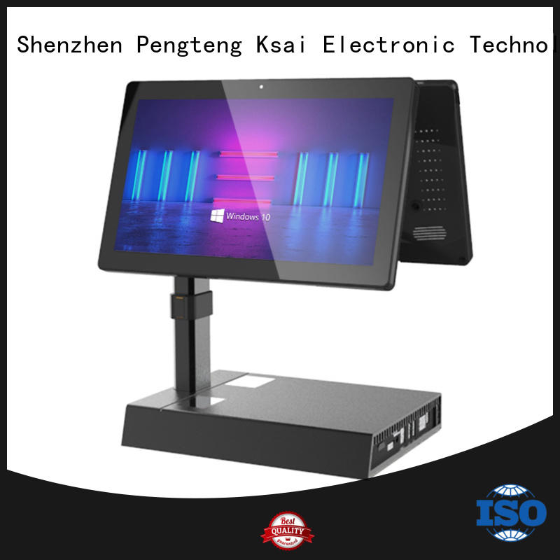 PTKSAI restaurant pos systems with barcode scanner for self service