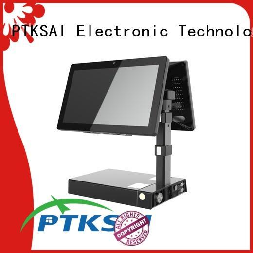 PTKSAI mobile pos terminal with printer for restaurants and bars