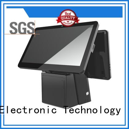 pos system cash register with thermal printer for self service PTKSAI