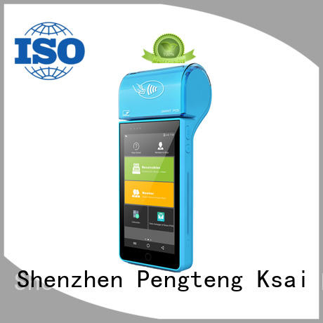 PTKSAI food mobile pos android with smart card reader for restaurants and bars