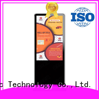 PTKSAI Brand advertising interactive digital signage kiosk touch factory
