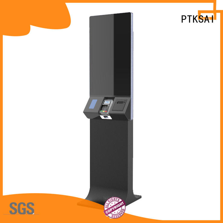 PTKSAI check in kiosk factory direct supply for promotion