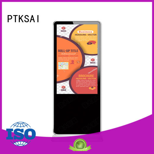 commercial digital signage ksts for self service PTKSAI