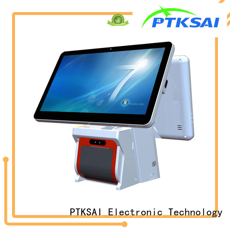 PTKSAI black pos system machine android for self service