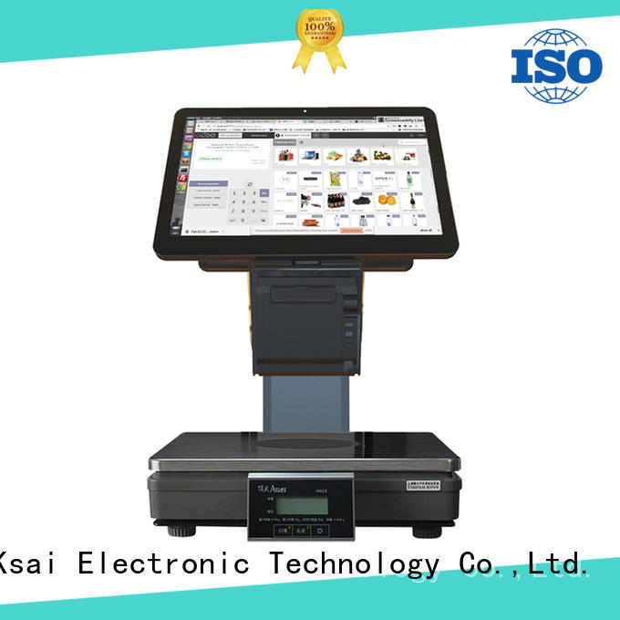 PTKSAI loading pos barcode scanner for self service