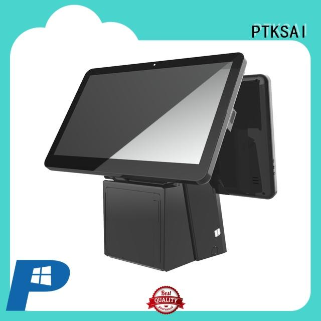 pos terminal with barcode scanner for self service