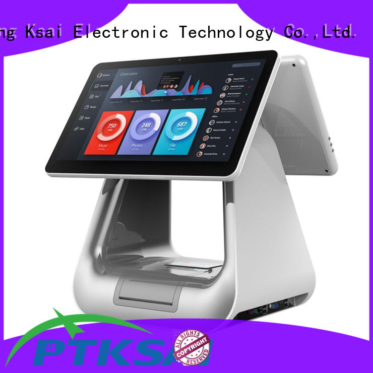 PTKSAI top quality point of sale terminal directly sale for self service