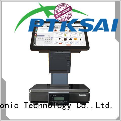 Custom cash scales cash register systems PTKSAI restaurant