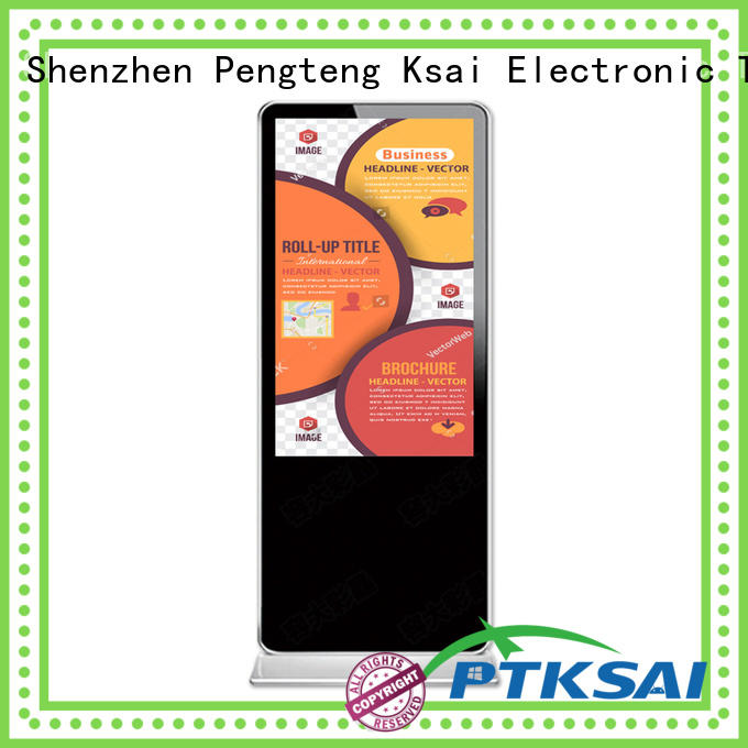 PTKSAI orientation portable digital signage all in one for self service