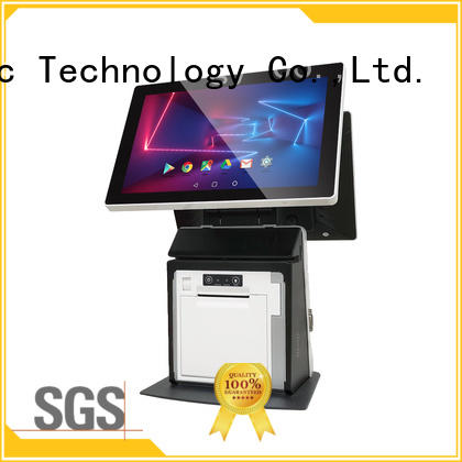 PTKSAI handheld mobile pos system with printer for payment